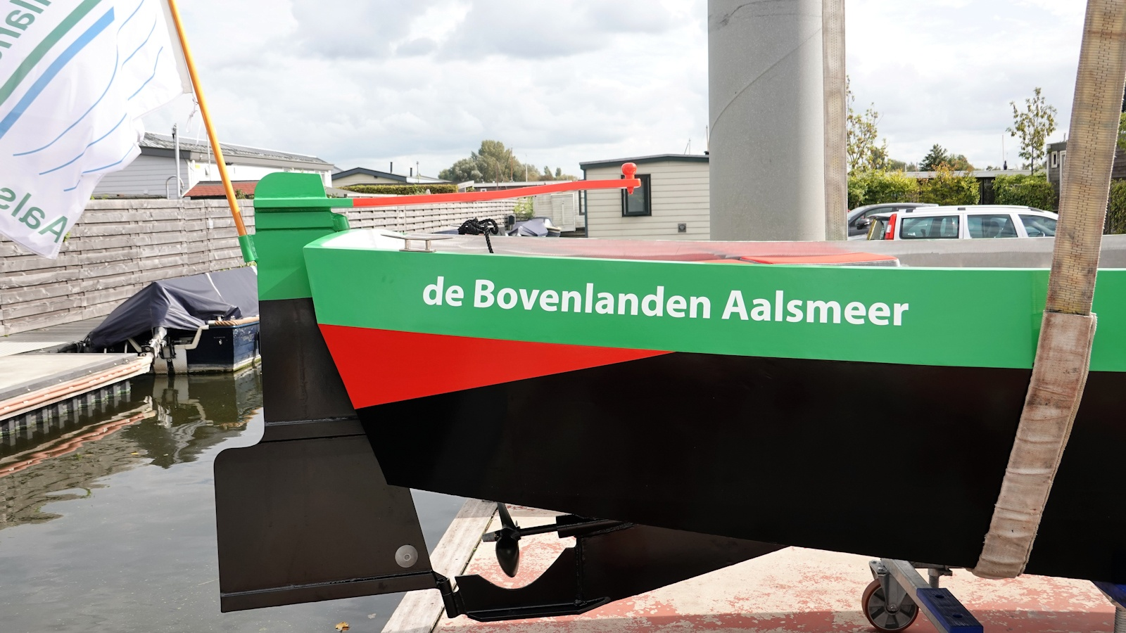 bovenlandenboot close-up